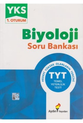 Aydın Yks-Tyt Biyoloji Soru Bankası 1. Oturum