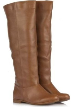 37numara Taba Renk Bayan Çizme Modelleri