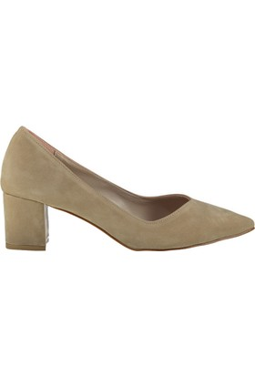 Pembe Potin Ten Nubuk Ayakkabı