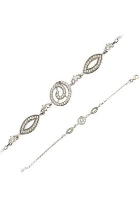 Affix Silver Gümüş Göz Model Bayan Bileklik