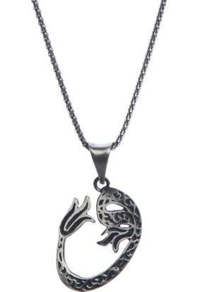 Affix Silver Gümüş Yeni Tasarım Vav Kolye