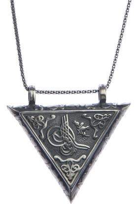 Affix Silver Gümüş Fatih Sultan Mehmet Tuğralı Muskalık