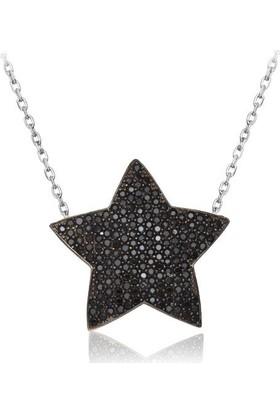 Affix Silver Gümüş Özel Koleksiyon Yıldız Kolye