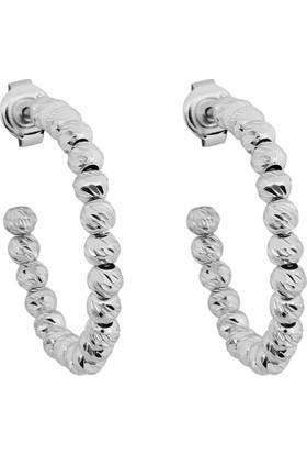 Affix Silver Gümüş Yeni Tasarım Toplu Küpe