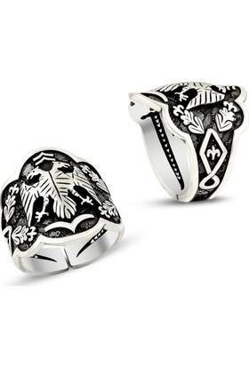 Affix Silver Gümüş Selçuklu Simgesi Kartal Yüzüğü