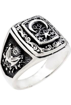 Affix Silver Gümüş Devlet Bahçeli Yüzüğü