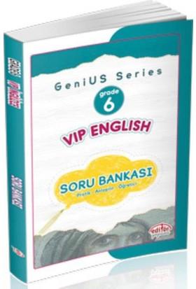 Editör 6. Sınıf Vip English Soru Bankası