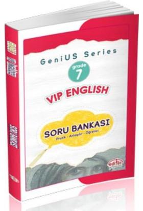 Editör 7. Sınıf Vip English Soru Bankası
