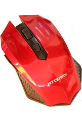Atomax AT-W20 Kablosuz Mouse Kırmızı