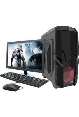 """Turbox TR920013 AMD Ryzen3 1300X 8GB 1TB GTX1050Ti Freedos 21.5"""" Masaüstü Bilgisayar"""