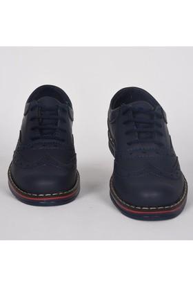 Volter Bağcıklı Klasik Günlük Lacivert Çocuk Ayakkabı