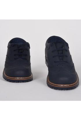 Volter Mini Bağcıklı Klasik Günlük Lacivert Çocuk Ayakkabı