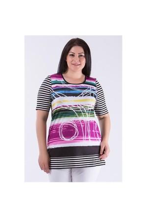 Megan Siyah Pastel Tunik 01000116-21