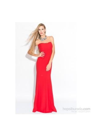 İroni 5900-903 Kadın Elbise Kırmızı