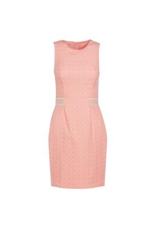 Nisantash Beli Şerit Detaylı Elbise