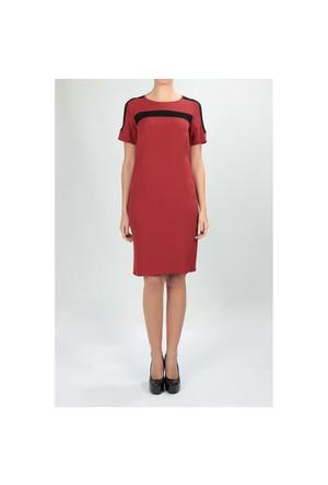Naramaxx 590 Kiremit Kadın Elbise