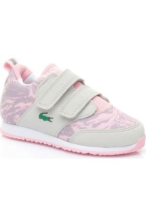 Lacoste Light Kız Çocuk Spor Ayakkabı Gri 734SPI0007.6X1