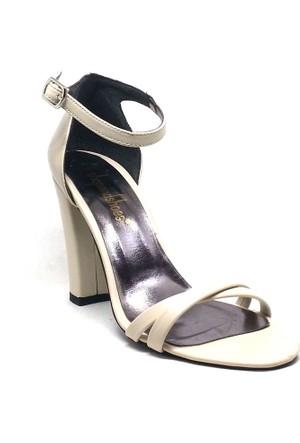 Shop And Shoes Kadın Ayakkabı Bej 173-021530