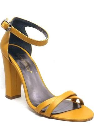 Shop And Shoes Kadın Ayakkabı Sarı 173-021530