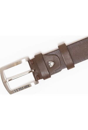 U.S. Polo Assn. Erkek Y7As002 Kemer Kahverengi
