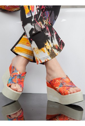 Terlik - Turuncu - Ayakkabı Havuzu