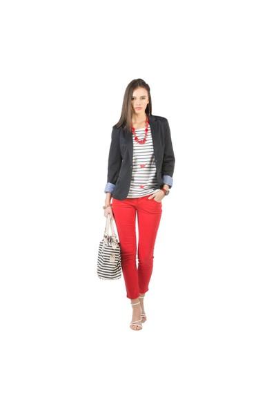 Colin's Kırmızı Kadın Pantolon