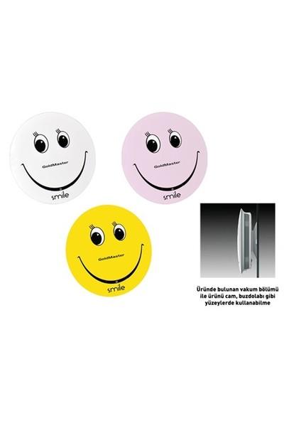 Goldmaster Smile AUX-SD Kart Girişli Taşınabilir Hoparlör (Pembe)