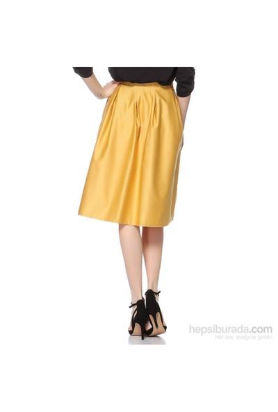 Sense Kadın Etek Sarı