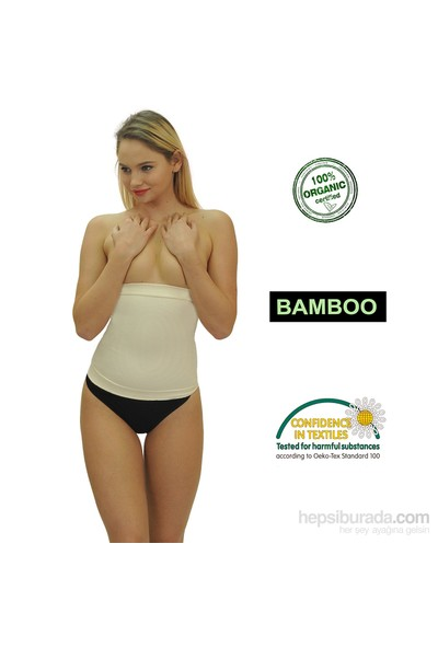 Emzik Form Bambu Bel Toparlayıcı Korse