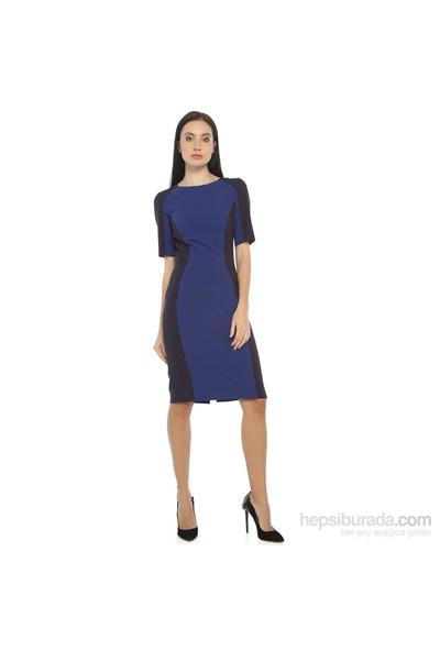 Karahasans Mavi Lacivert Elbise