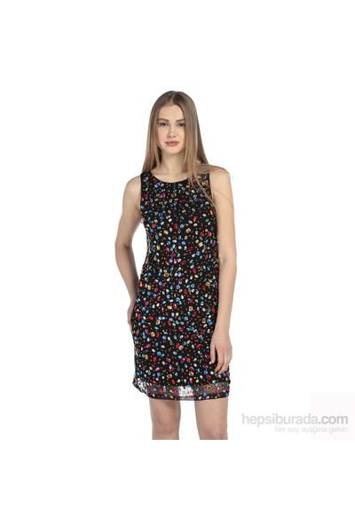 Karahasans Renkli Tas¸Lı Elbise