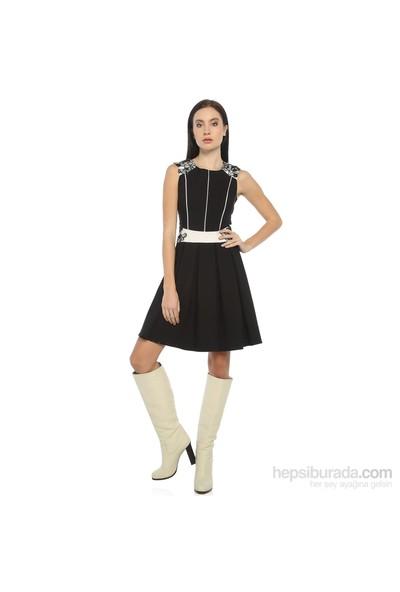 Karahasans Siyah Beyaz Elbise