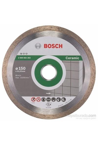Bosch - Standard Seri Seramik İçin Elmas Kesme Diski - 115 X 22,23 X 1,6 X 7 Mm