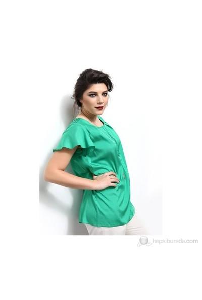 Simona Y01302gb Önüpatlı Apoletli Gömlek