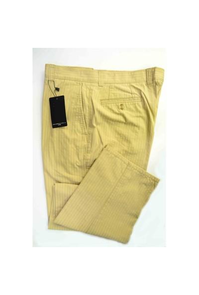 Ruba Erkek Pantolon 2185 Sarı Çizgili