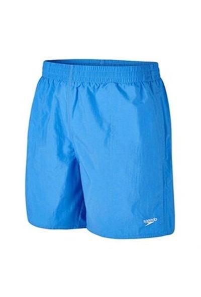 Speedo Solid Leis 16 Wsht Am Blue Erkek Şort Mayo