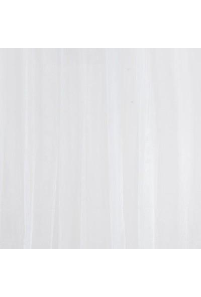 Melodie Beyaz Tül Perde 300X260