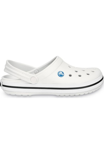Crocs 11016-100 M7/W9 - 39/40 Crocband Beyaz-Siyah