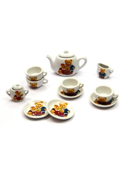 Vardem Oyuncak Kutulu Porselen Çay Set 13 Parça