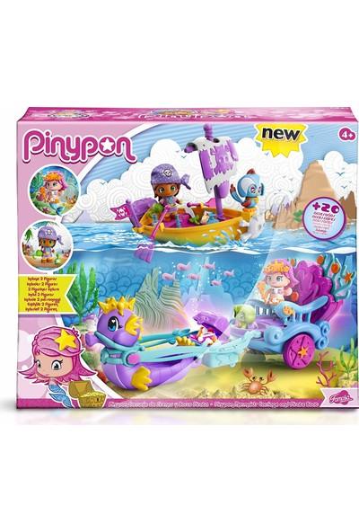 Pinypon 9342 Deniz Kızı Kayık ve Araba Seti