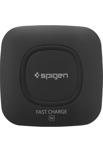 Spigen Essential F301W 9W Hızlı Kablosuz Şarj Cihazı (QI Sertifikalı Tüm Cihazlar ile Uyumlu) - 000CH20727