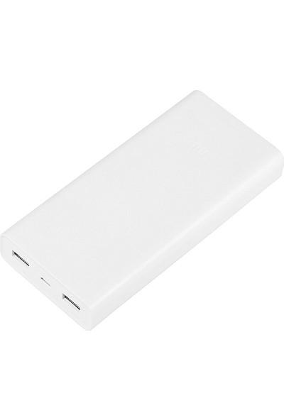 Xiaomi 20000 mAh 2C Quick Charge 3.0 Taşınabilir Hızlı Şarj Cihazı