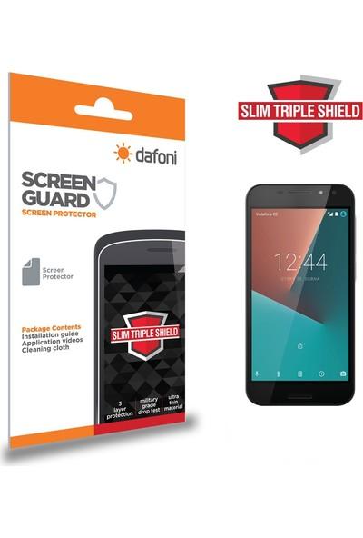 Dafoni Vodafone Smart N8 Slim Triple Shield Ekran Koruyucu