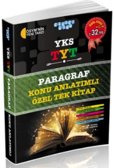 Akıllı Adam Yks-Tyt Paragraf Konu Anlatımlı Özel Tek Kitap