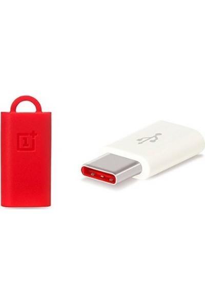 OnePlus USB-C ( Type-C ) to Micro USB Dönüştürücü