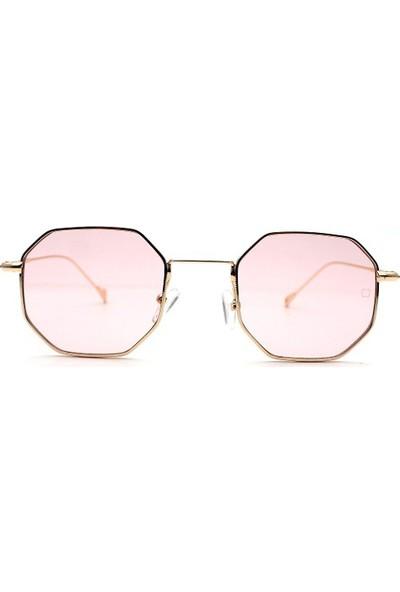 Zolo Eyewear Hexagon Altıgen Pembe 304 48.23 Güneş Gözlüğü
