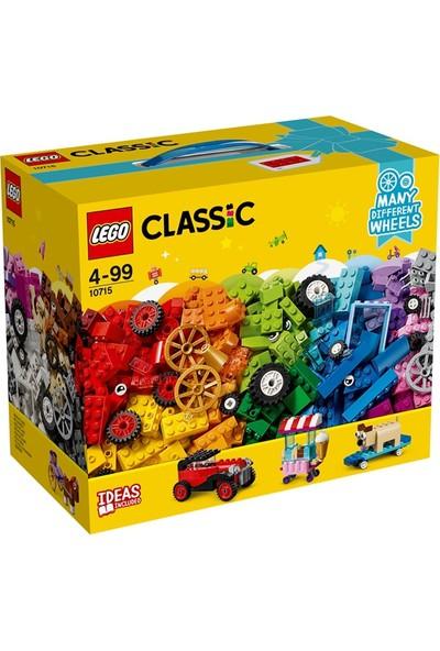 LEGO Classic 10715 Tekerlekli Yapım Parçaları