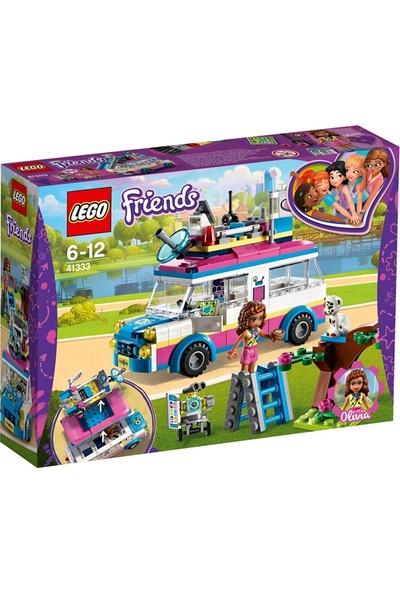 LEGO Friends 41333 Olivia'nın Görev Aracı