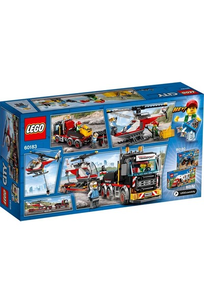LEGO City 60183 Ağır Kargo Nakliyesi