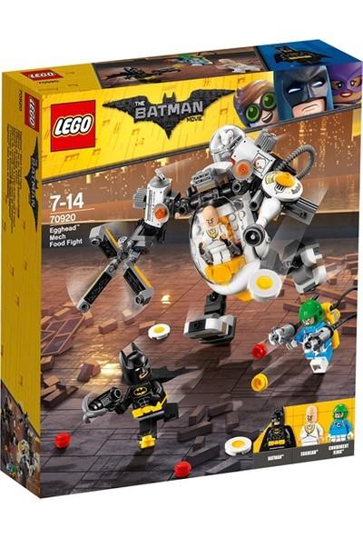 LEGO Batman Movie 70920 Egghead™ Robot Yemek Savaşı